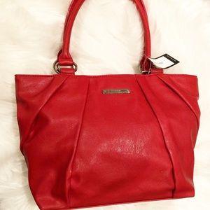 🎁 Nine West handbag in Rio Red NWT